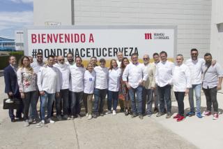 Visita a la fabrica Mahou San Miguel en Málaga