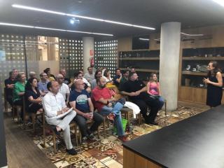 Reunión de socios Valencia