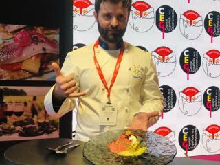 Javier Fuster: Presentación plato homenaje a Murcia 2020