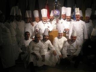 Chefs Euro-Toques en Bruselas