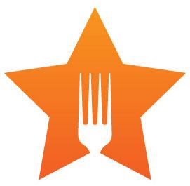 Tenedor en estrella